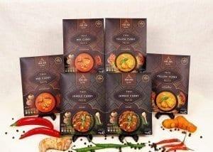Hot Bundle Thai curry pastes