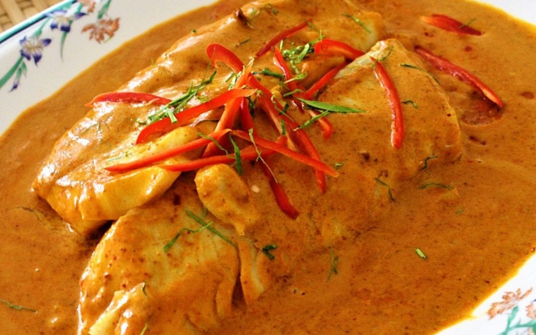Cod Thai Panang Curry