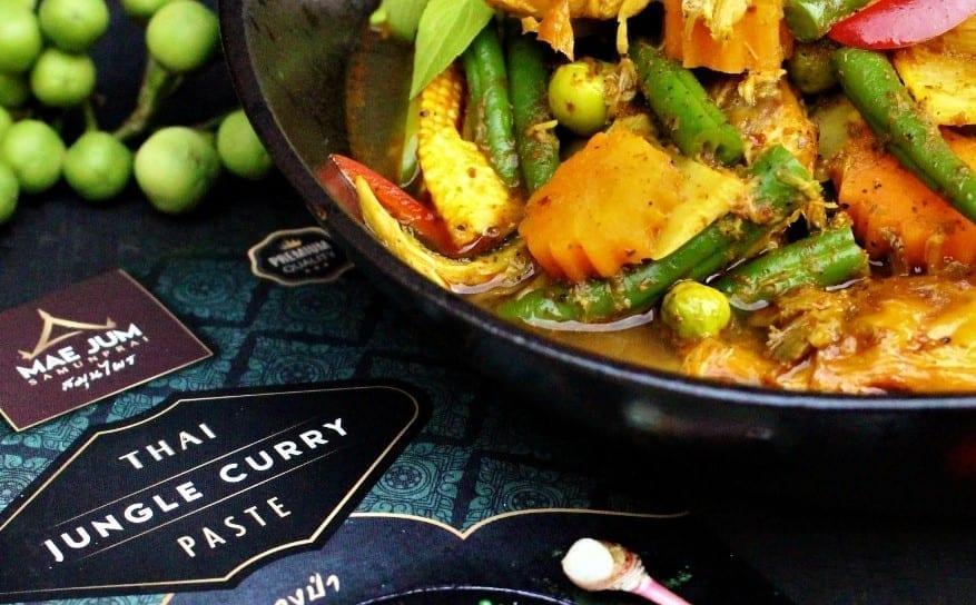 mackerel thai jungle curry recipe by mae jum