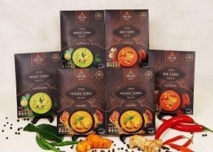 classic bundle thai curry pastes