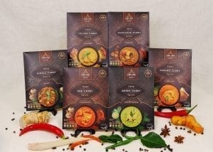 Gift bundles Thai curry pastes