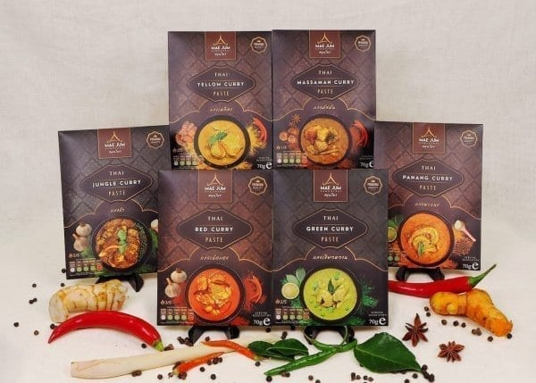 Gift bundles Thai curry pastes