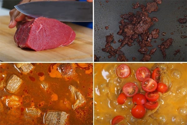 step by step thai beef massaman curry recipe with potatoes