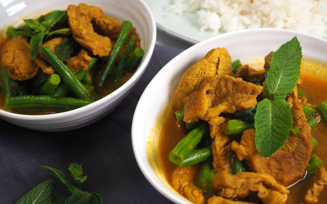 Pork Thai Jungle Curry with Green Beans