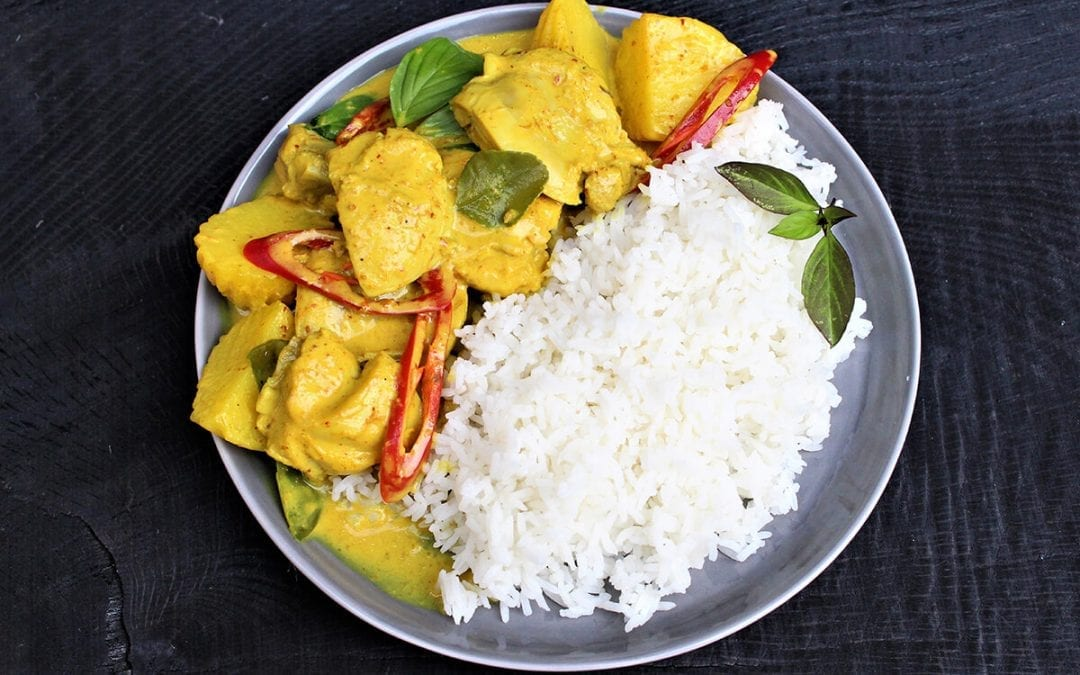 Chicken and Potato Thai Yellow Curry