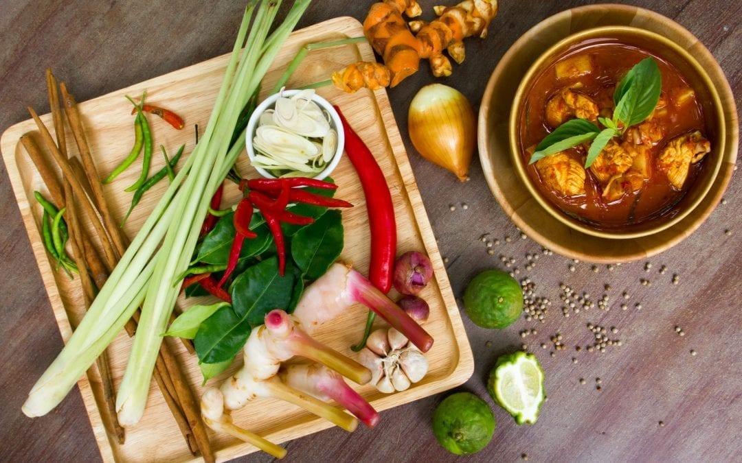 4 essential flavours of Thai cuisine
