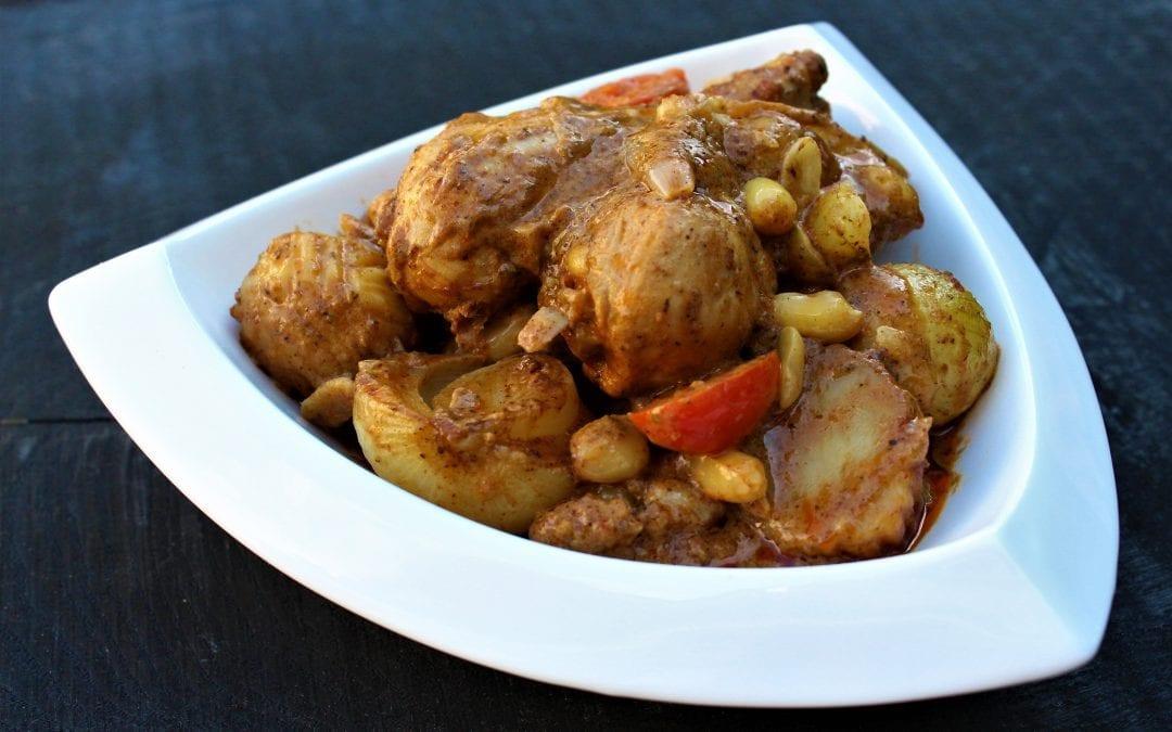 Chicken Drumsticks Massaman Curry