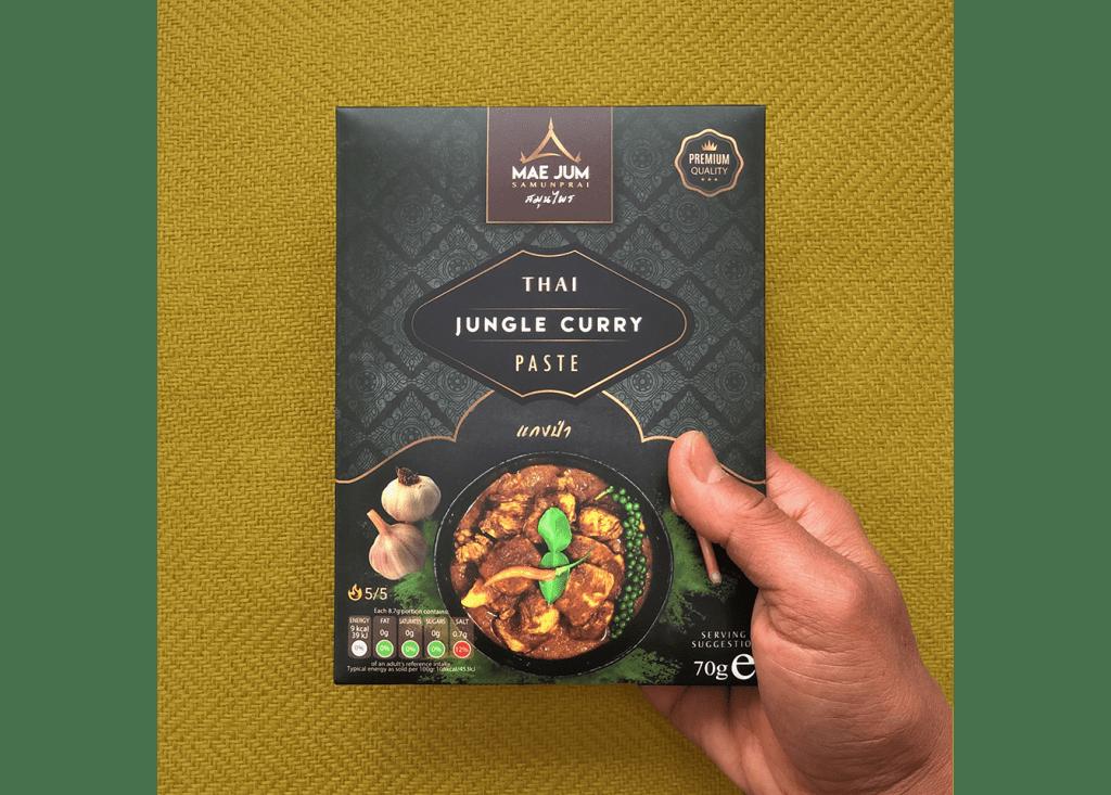 Thai jungle curry paste by mae jum