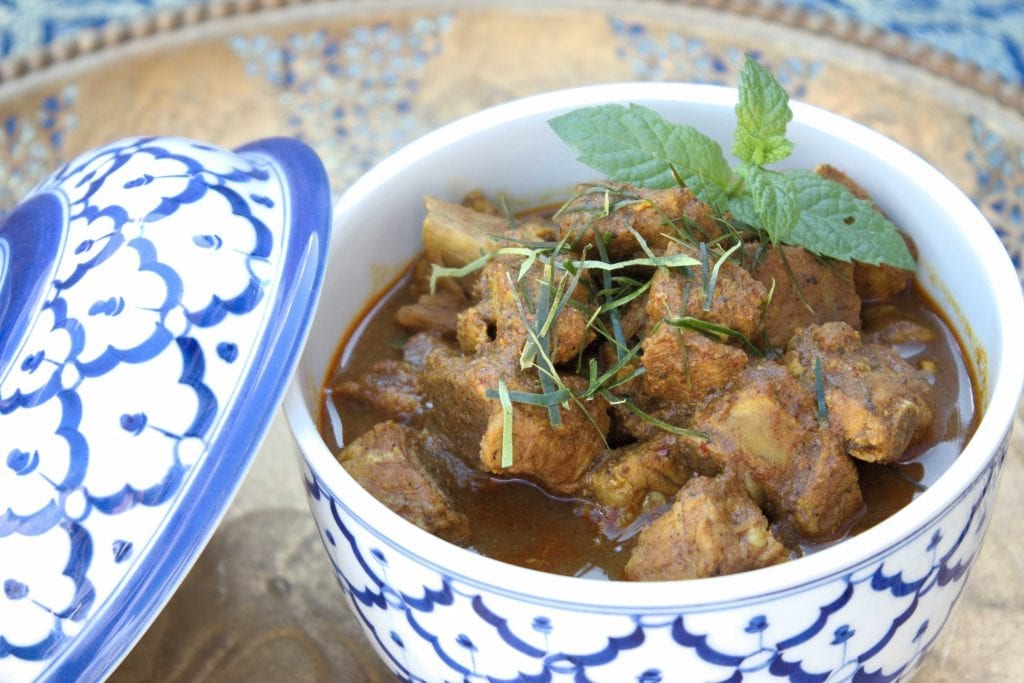 pork authentic and traditional Thai Jungle Curry recipe by mae jum