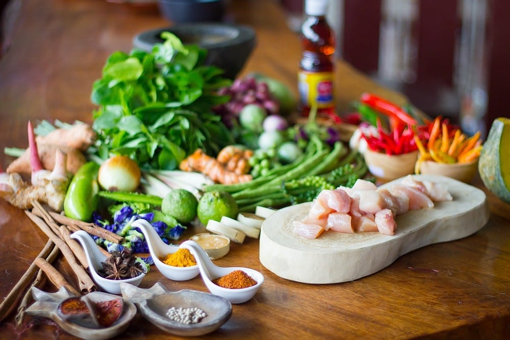 thai cuisine kitchen , mae jum
