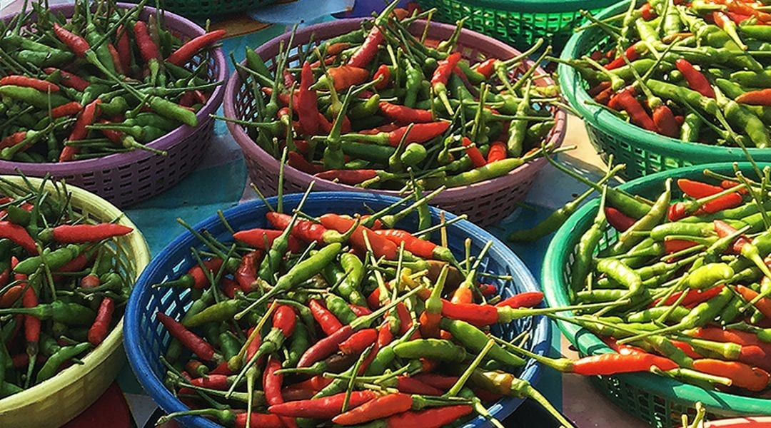 Get to know: Red and Green Chillies